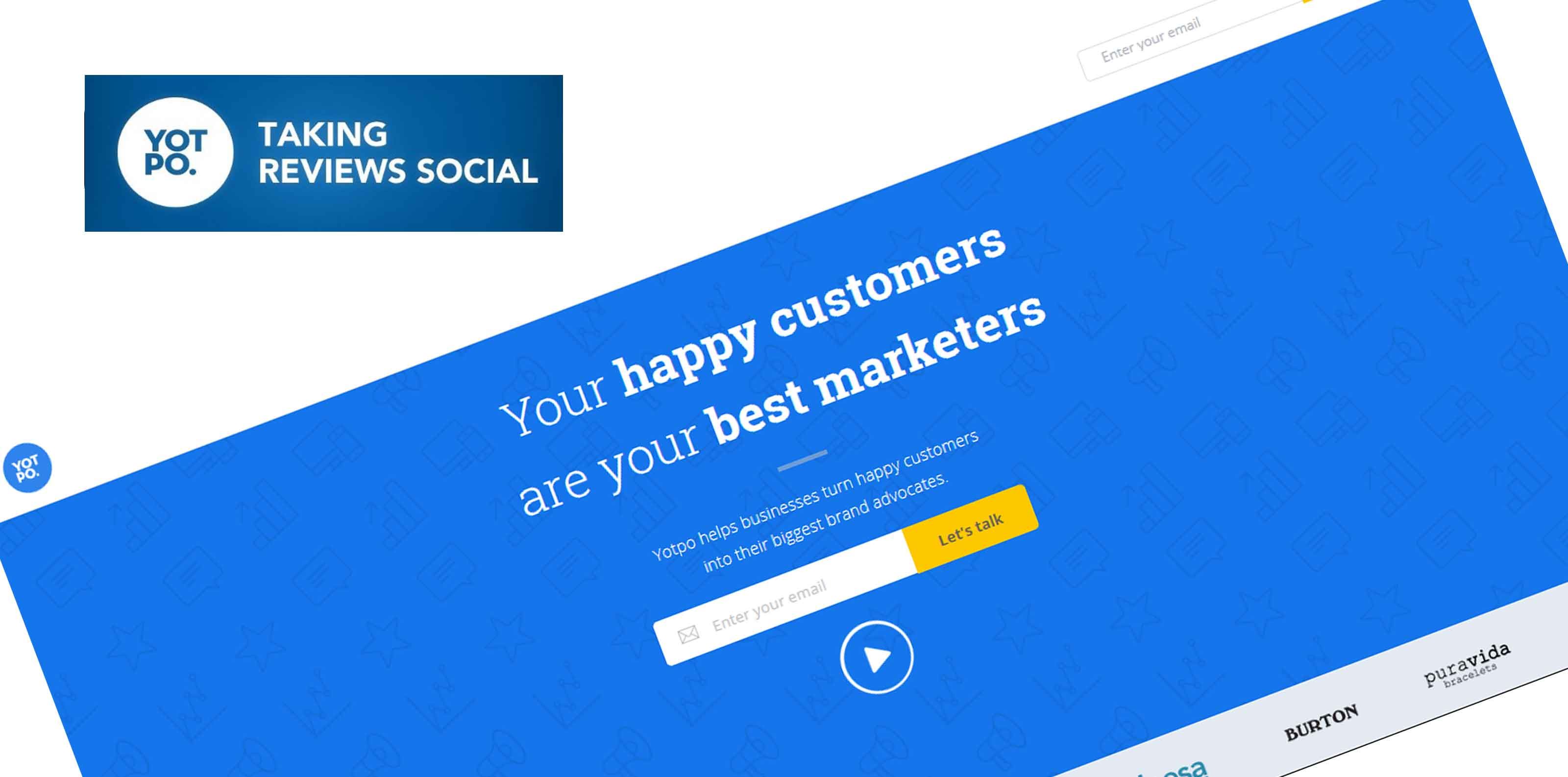 Yotpo is the industry leader in user-generated content technology. Yotpo helps stores generate tons of reviews and use them to drive quality traffic and sales through social media, email and…